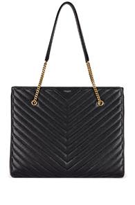 Saint Laurent Jumbo Tribeca Bag in Black