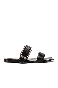 Saint Laurent Jodie Sandal in Black