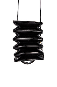 Y/Project Mini Accordion Bag in Black
