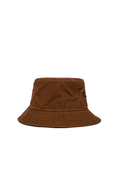 Acne Studios Bucket Hat in Brown.