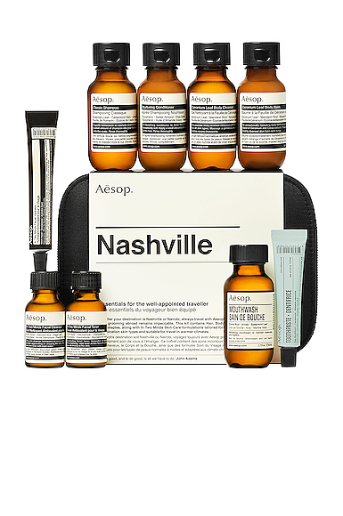 Aesop Nashville Travel Kit.