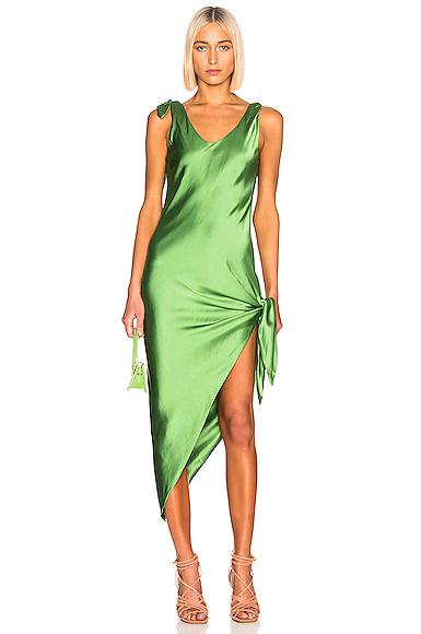 Cult Gaia Dehlila Dress in Green. - size L (also in )