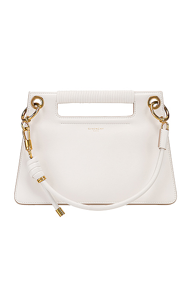Givenchy Small Whip Bag in White.