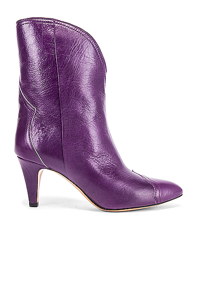 Isabel Marant Dythey Boot in Purple. - size 40 (also in 35,37,38,39,41)