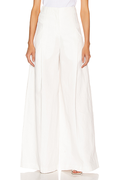 JACQUEMUS Ligurie Pant in White. - size 34 (also in )