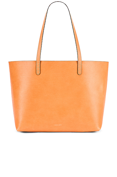 Mansur Gavriel Large Tote Bag in Brown.