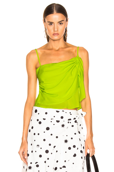 Miaou Sonia Top in Green. - size XS (also in L,M,S)