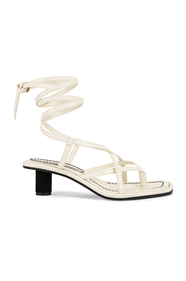 Proenza Schouler Gladiator Sandals in White. - size 36 (also in 36.5,38.5,39)