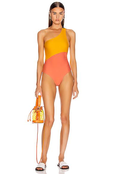 Sebastien Surie Swimsuit in Orange,Yellow. - size S (also in L,M,XS)