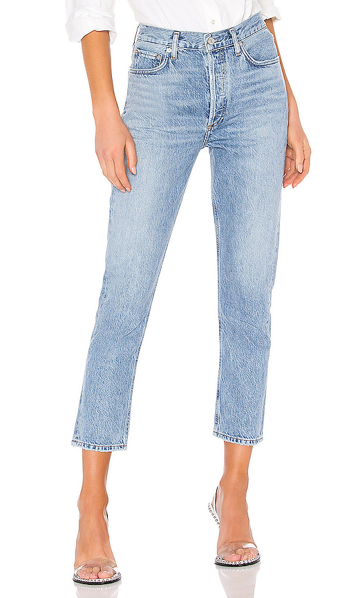 AGOLDE Riley High Rise Straight Crop. - size 26 (also in 23,24,25,27,28,29,30,31,32)
