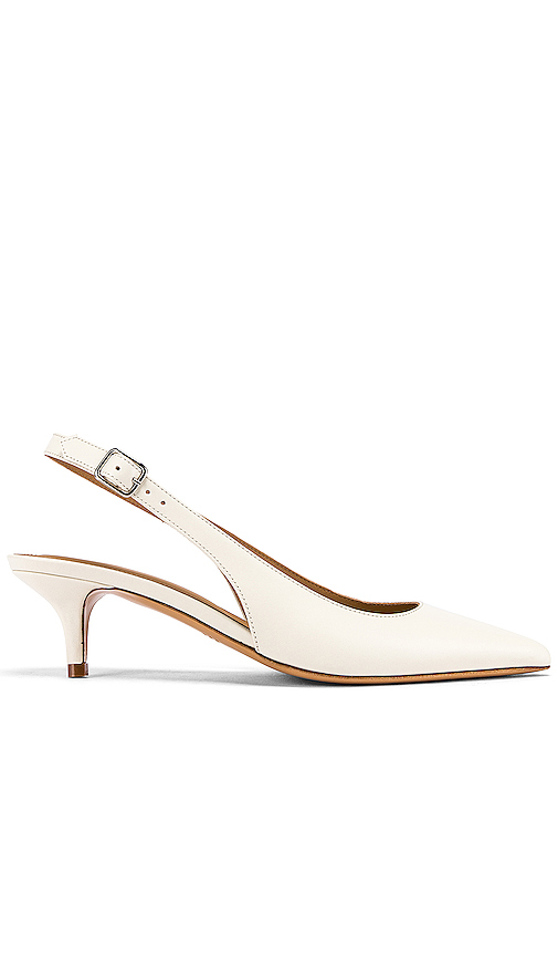 A.P.C. Chaussures Island Sling Back in White. - size 35 (also in 36,37,38)