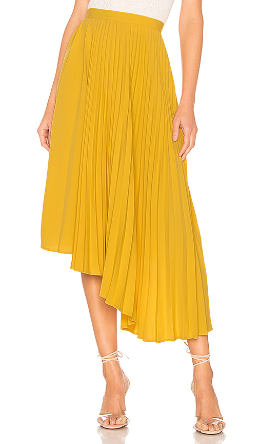 ASTR the Label Elliott Skirt in Yellow. - size M (also in XS,L)