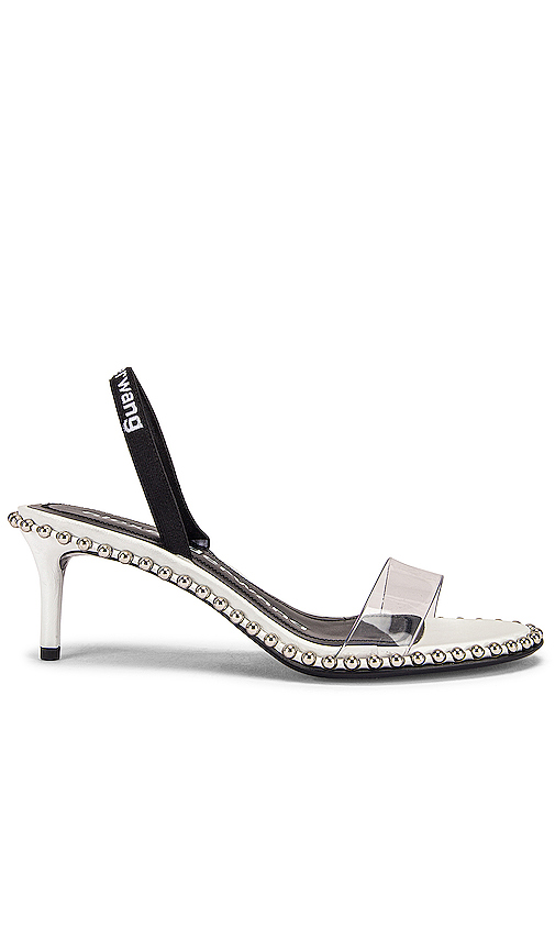 Alexander Wang Nova Low Heel in Metallic Silver. - size 37 (also in 36,36.5,37.5,38,38.5,39,39.5)