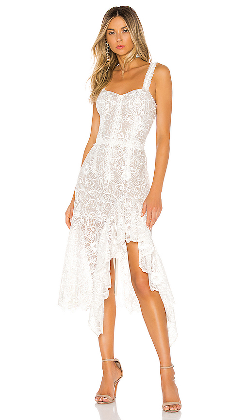 Bronx and Banco Tiffany Blanc Dress in White. - size M (also in XS,S,L)