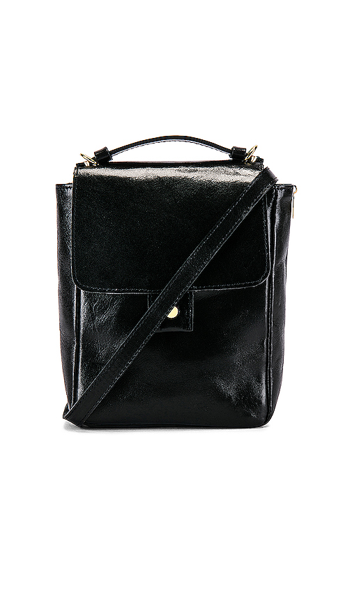 Clare V. Pocket Bag in Black.