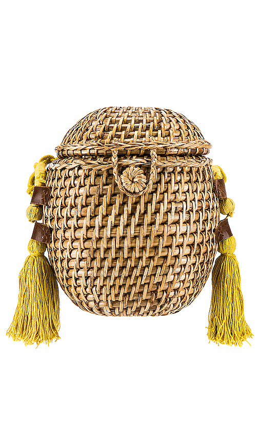 Cleobella Vicente Basket in Tan.