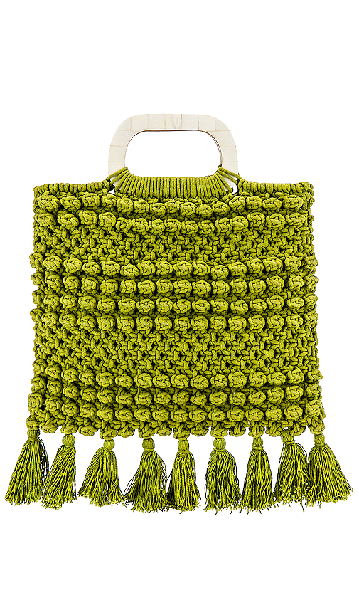Cleobella Thalia Tote in Green.