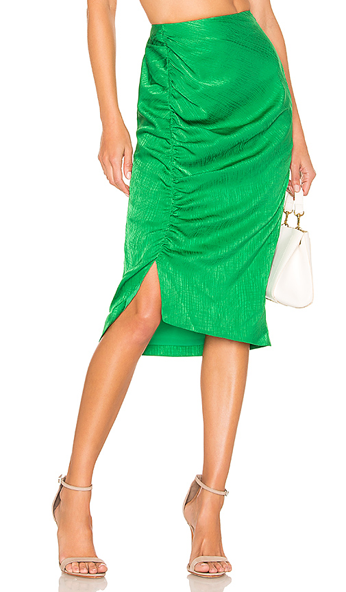 House of Harlow 1960 x REVOLVE Roos Skirt in Green. - size S (also in XXS,XS,M,XL)
