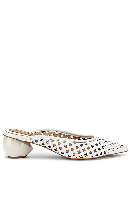 JAGGAR Caged Mule in Ivory. - size 37 (also in 35,36,38,39,40)