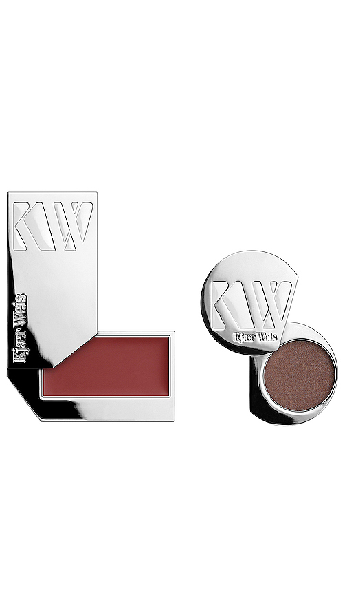 Kjaer Weis The Essential Duo No. 2 Florence in Wisdom & Sensuous Plum.