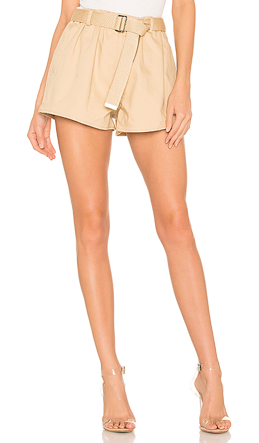 L'Academie The Ava Short in Beige. - size XS (also in XXS,S,M,L,XL)