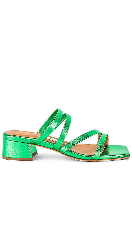 Miista Eva Sandal in Green. - size 38 (also in 35,36,37,39)