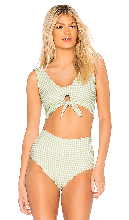 Montce Swim Kim Top in Green. - size XS (also in M)