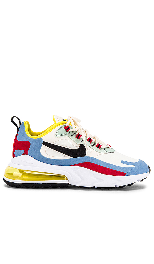 Nike Air Max 270 React Sneaker in White. - size 8 (also in 6,6.5,7,7.5,8.5,9,9.5,10)