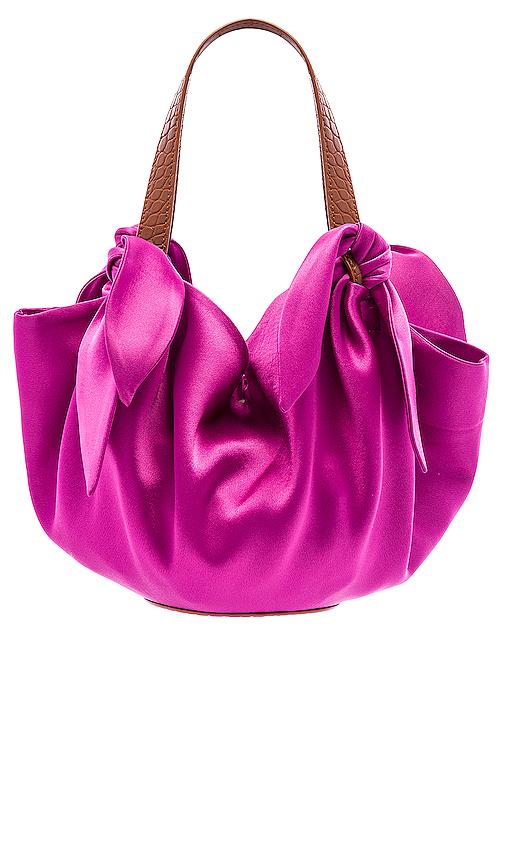 Nanushka Micro Inda Bag in Pink.