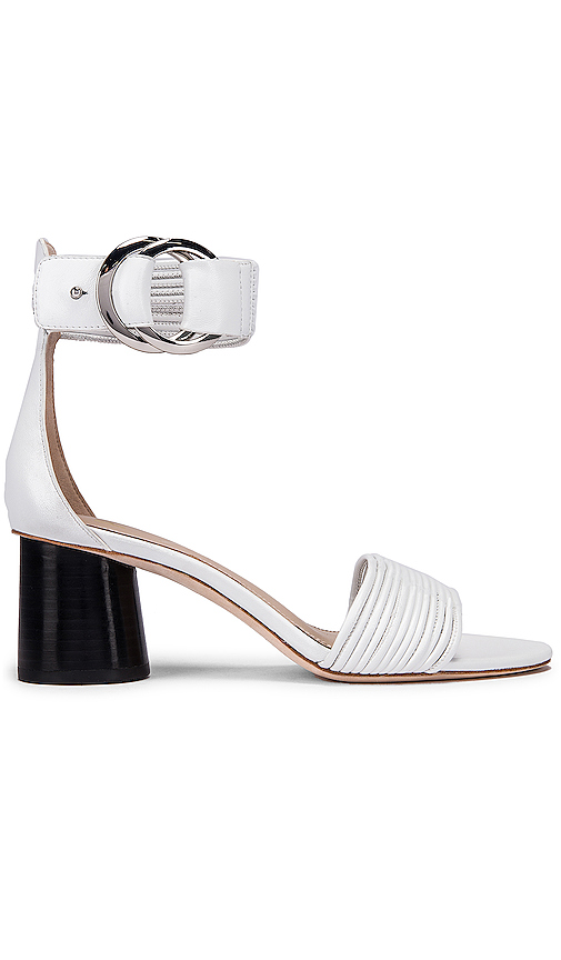 PAIGE Felicity Sandal in White. - size 8 (also in 6.5,7,8.5,9,9.5)