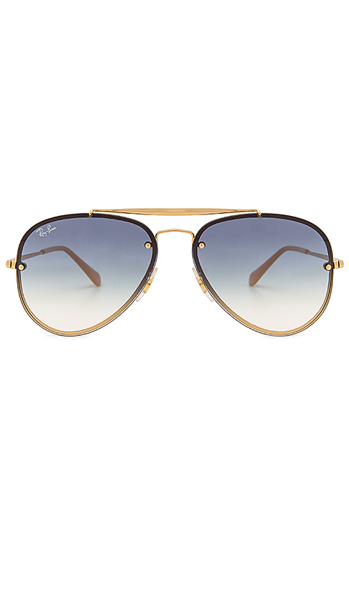Ray-Ban Blaze Aviator in Blue.