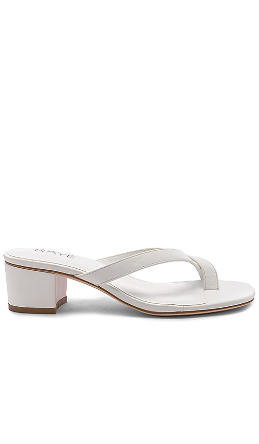 RAYE Estes Sandal in White. - size 8 (also in 5.5,6,6.5,7,7.5,8.5,9,9.5,10)