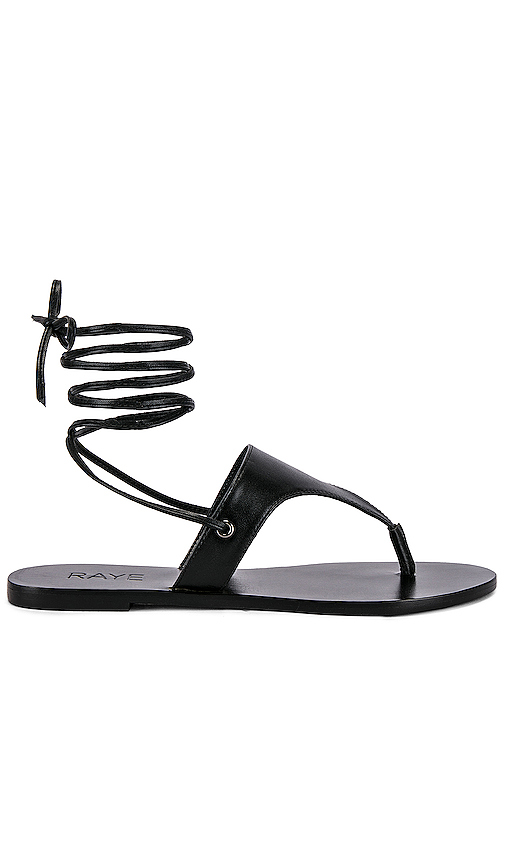 RAYE Ethan Sandal in Black. - size 6 (also in 5.5,6.5,7,7.5,8,8.5,9,9.5)