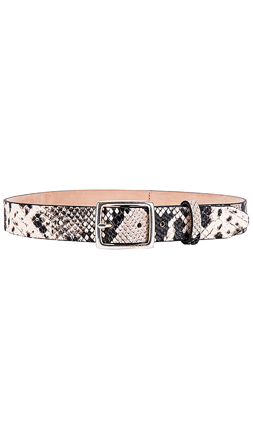 Rag & Bone Boyfriend Belt in Black & White. - size XS (also in S,M,L)