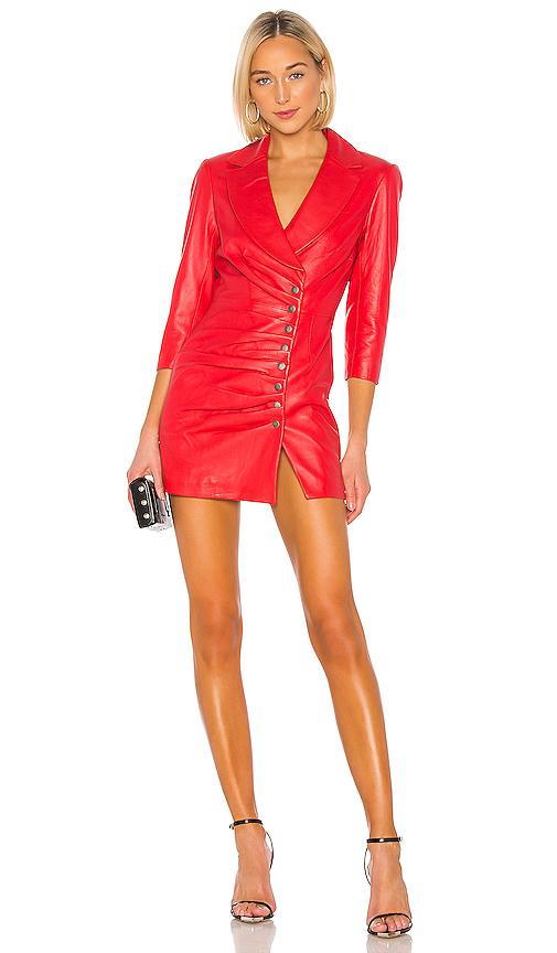 retrofete Willa Dress in Red. - size XS (also in S,M)