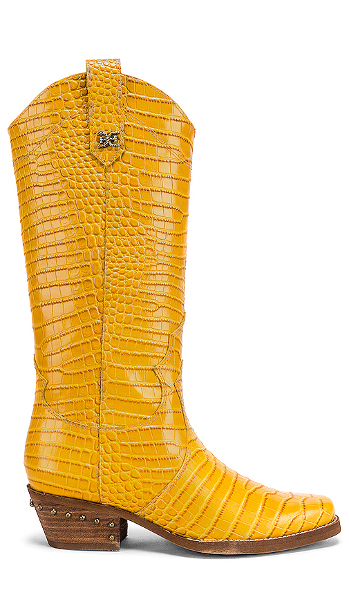Sam Edelman Oakland Boot in Yellow. - size 8 (also in 6,6.5,7,7.5,8.5,9,9.5,10)