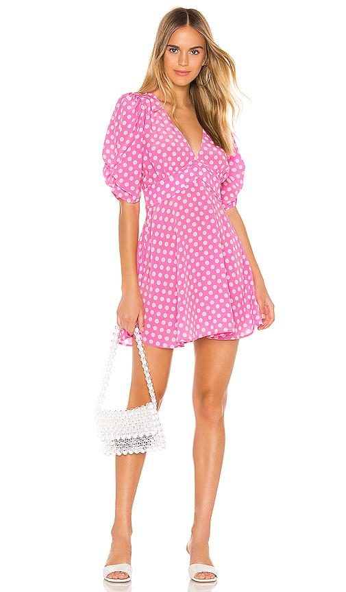 Selkie The Beach House Dress in Pink. - size XS (also in S)