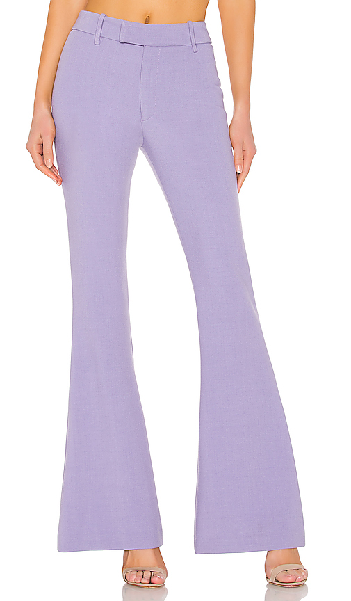 Smythe Bootcut Pant in Lavender. - size 4 (also in 0,2,6)
