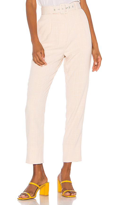 Song of Style Lane Pant in Beige. - size S (also in XXS,XS,L,XXL)