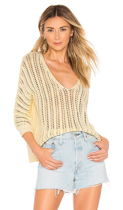 Tularosa Bergamot Sweater in Yellow. - size M (also in XS,S,L)
