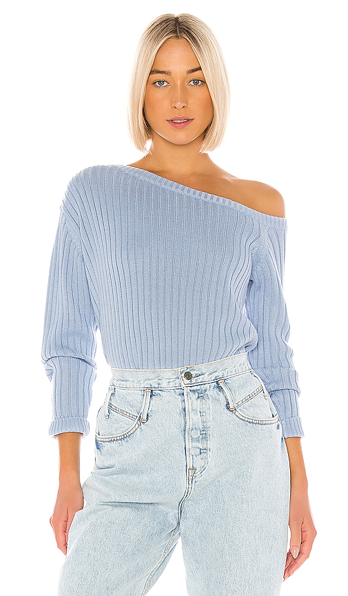 Tularosa Cole Sweater in Baby Blue. - size M (also in L,S,XS)