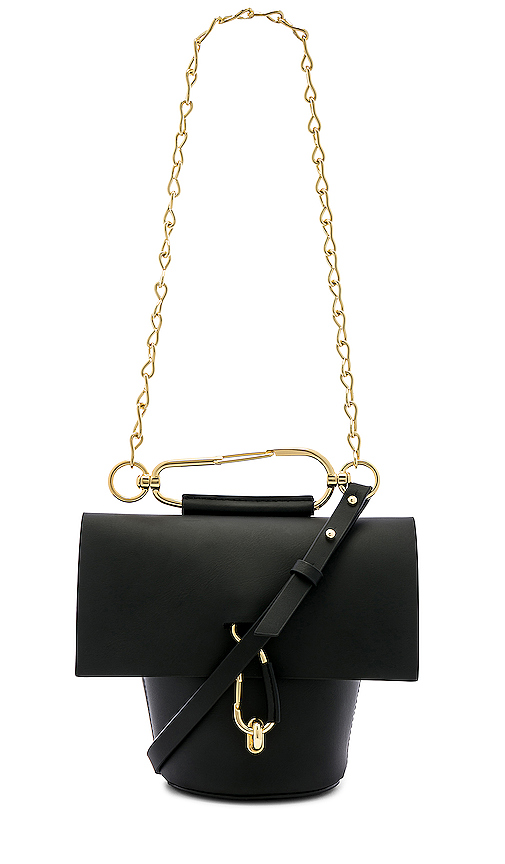 Zac Zac Posen Belay Chain Crossbody in Black.