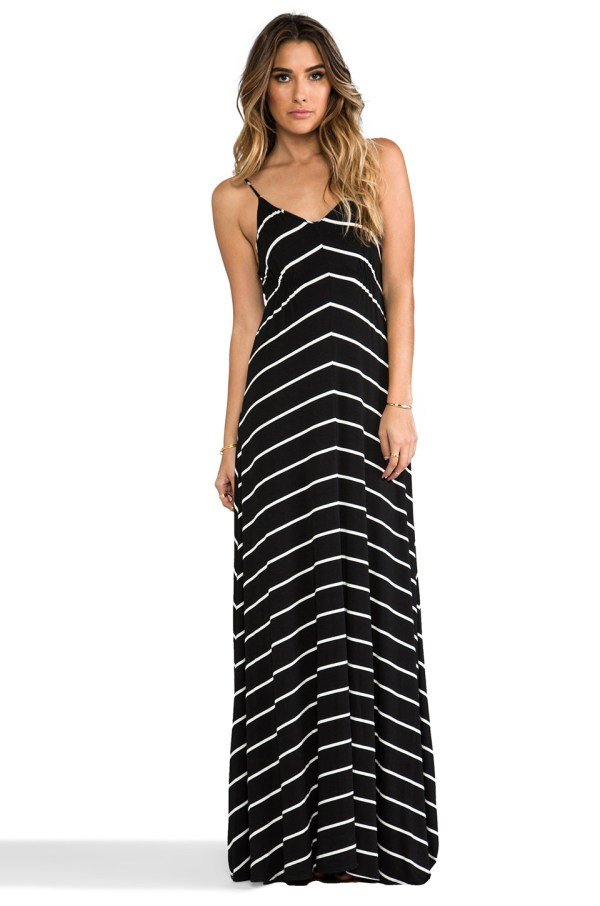 Eight Sixty Stripe Maxi Dress - Driverlayer Engine