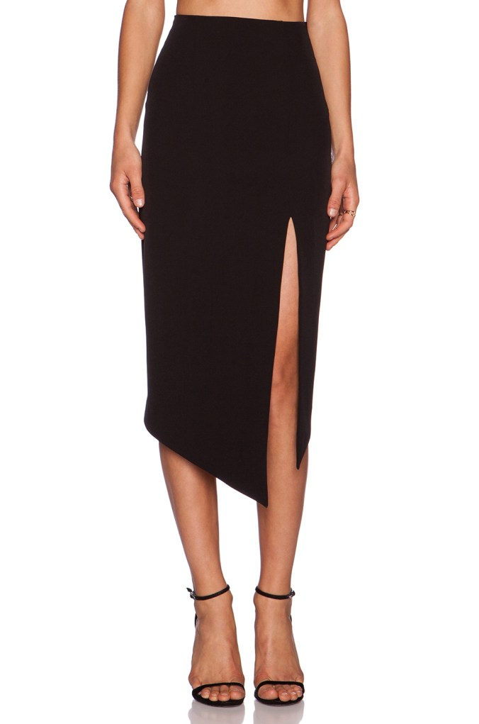 The Modernists Asymmetric Midi Skirt