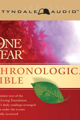 The One Year Chronological Bible NLT (Unabridged) - Tyndale House Publishers