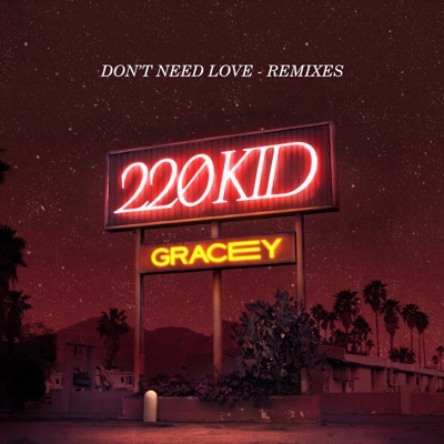 Don't Need Love (TCTS Remix) - 220 KID & GRACEY mp3 download