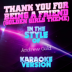 Thank You for Being a Friend (Golden Girls Theme) [In the Style of Andrew Gold] [Karaoke Version] - Ameritz Audio Karaoke - Ameritz Audio Karaoke