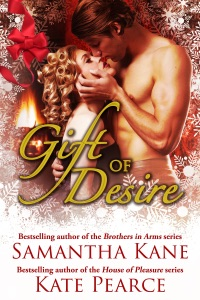 Gift of Desire (Hot Christmas Love Stories from Samantha Kane and Kate Pearce) - Kate Pearce pdf download