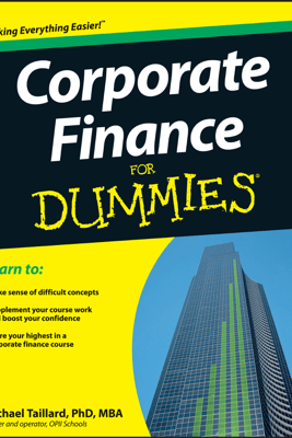 Corporate Finance For Dummies - Michael Taillard