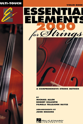 Essential Elements 2000 for Strings - Book 1 for Violin (Textbook) - Robert Gillespie